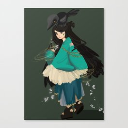 Kleptowitch Canvas Print
