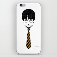 potter iPhone & iPod Skins featuring Iconic Potter by Arne AKA Ratscape