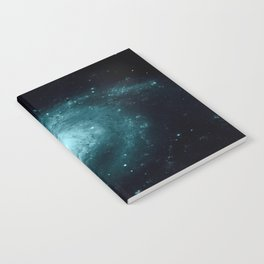 Spiral gALAxy Teal Notebook