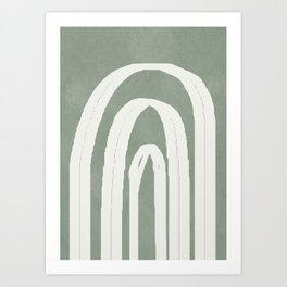 Abstract Arches Art Print