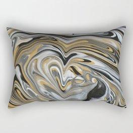 Melting Metals Rectangular Pillow