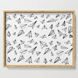 Paper planes Serving Tray