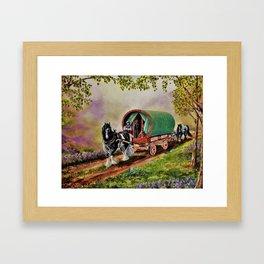 """""""Gypsy Road"""" Framed Art Print"""
