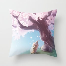 One Fine Spring Afternoon 2 Throw Pillow