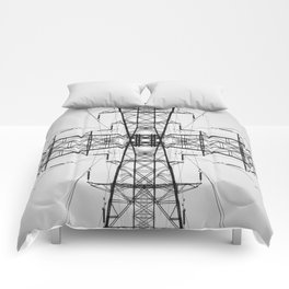 Tower Symmetry Comforters
