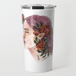 Flower Girl Travel Mug