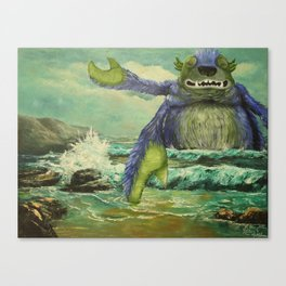 Did Somebody Say Release the Kraken Canvas Print