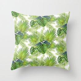 TropicalPupis Throw Pillow