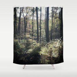 Wander in Woods Shower Curtain