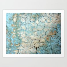 Corroded Beauty Art Print