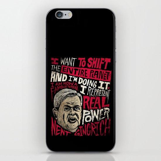 Newt Power iPhone & iPod Skin