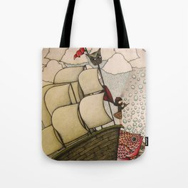 your chances are 50/50 Tote Bag