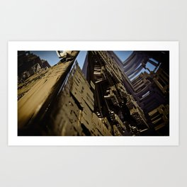Citylandis Art Print