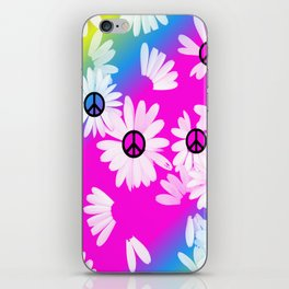 Flower Power Hippie iPhone Skin
