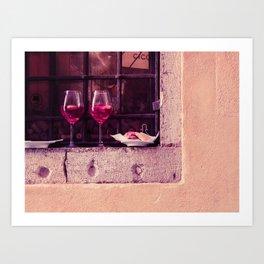 Window in Venice Art Print
