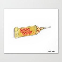 Sugar daddy Canvas Print