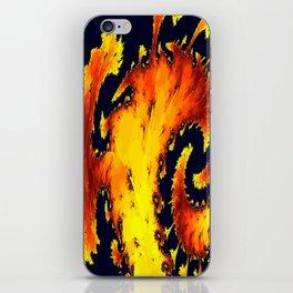 fire whirl iPhone Skin