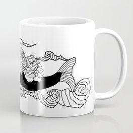 Flying whale flower Coffee Mug