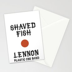 Shaved fish Stationery Cards