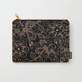 Gold Roses II Carry-All Pouch