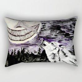 On The Full Moon Rectangular Pillow