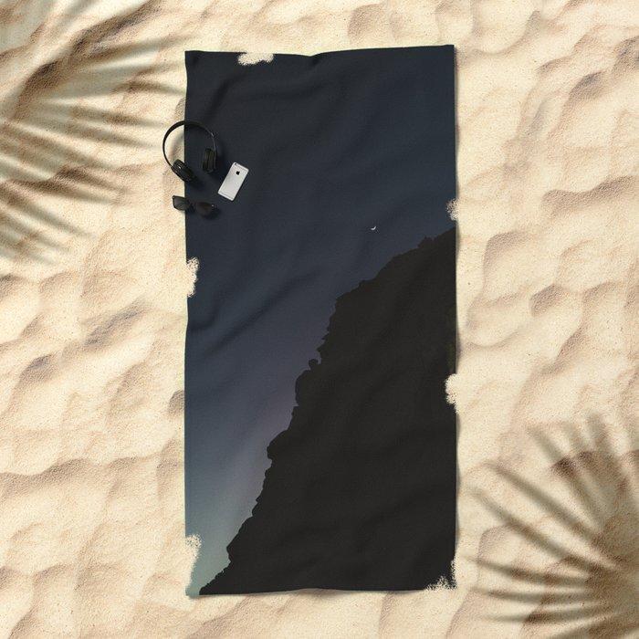 Mexico Moon III Beach Towel