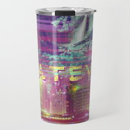 a e s t h e t i c WHATEVER vaporwave Travel Mug