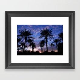 arizona grand sunset Framed Art Print