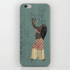 Belly dancer 1 iPhone & iPod Skin