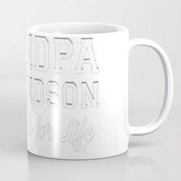 Men's Grandfather Grandson Friends Fist Bump Shirt Grandpa Grandad Coffee Mug