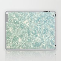 Detailed rectangle, light blue  Laptop & iPad Skin