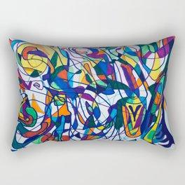 An Extravagant Entanglement Rectangular Pillow