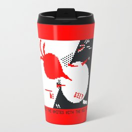 Beet the whites with the red veg Travel Mug