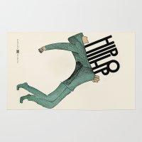 hip hop Area & Throw Rugs featuring Hip-Hop by Mariana Baldaia