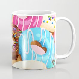 Donuts with Sprinkles Coffee Mug