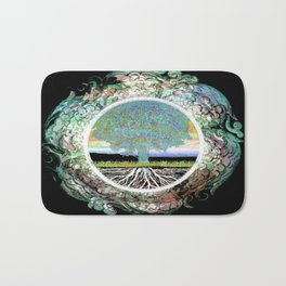 Tree of Life Hope and Happiness Bath Mat