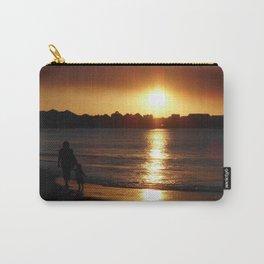 Sunset Silhouette Mandurah Western Australia Carry-All Pouch