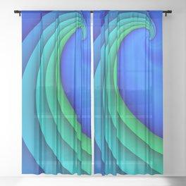 fluid -47- Sheer Curtain