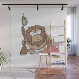 Lion training Wall Mural