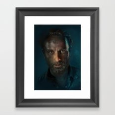 The Walking Dead - Rick Grimes Framed Art Print