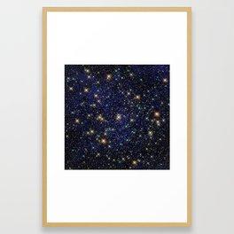 Standout Stars Framed Art Print