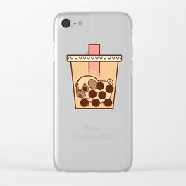 Puglie BBT Clear iPhone Case