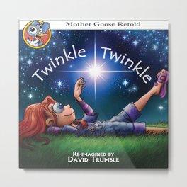 """""""Twinkle Twinkle"""" Metal Print"""