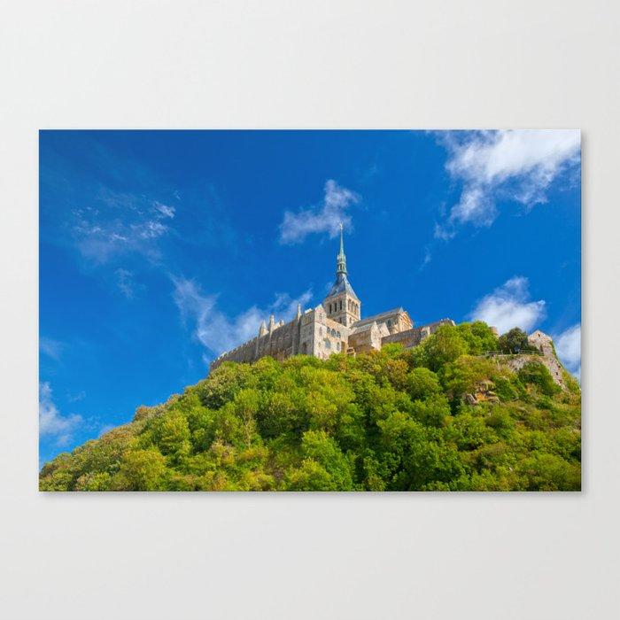 Mont Saint-Michel Abbey Canvas Print