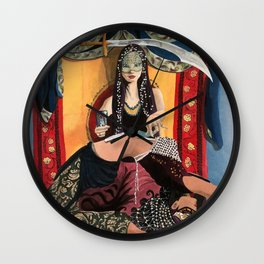 Tarot Reader Wall Clock