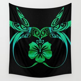 Kiss of a Humming Bird Wall Tapestry
