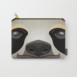 2D sloth Carry-All Pouch