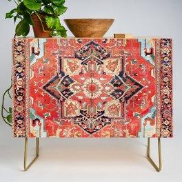 Heriz Azerbaijan Northwest Persian Rug Print Credenza