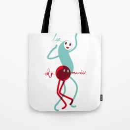 Love, color, music Tote Bag
