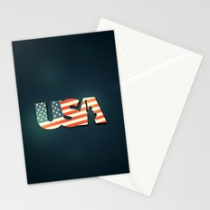 USA Stationery Cards